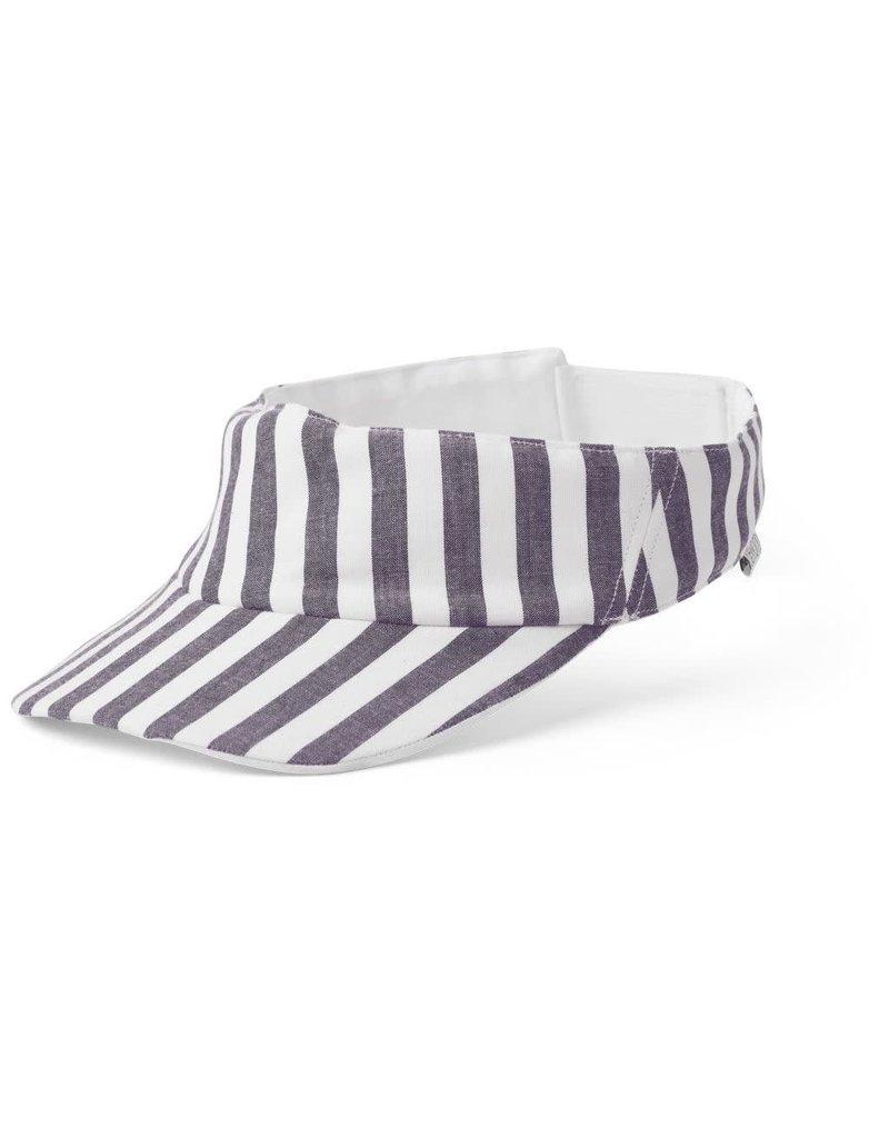Liewood Liewood Graham zonneklep stripe navy/creme de la creme