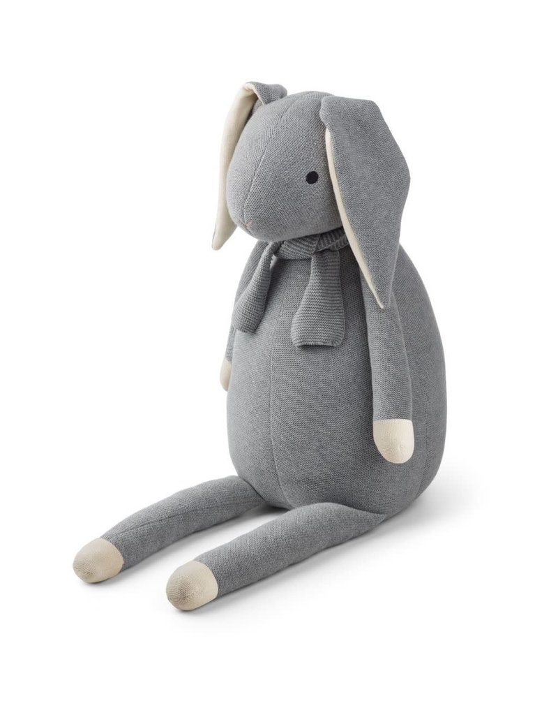 Liewood Liewood Kathlin knit teddy rabbit grey melange