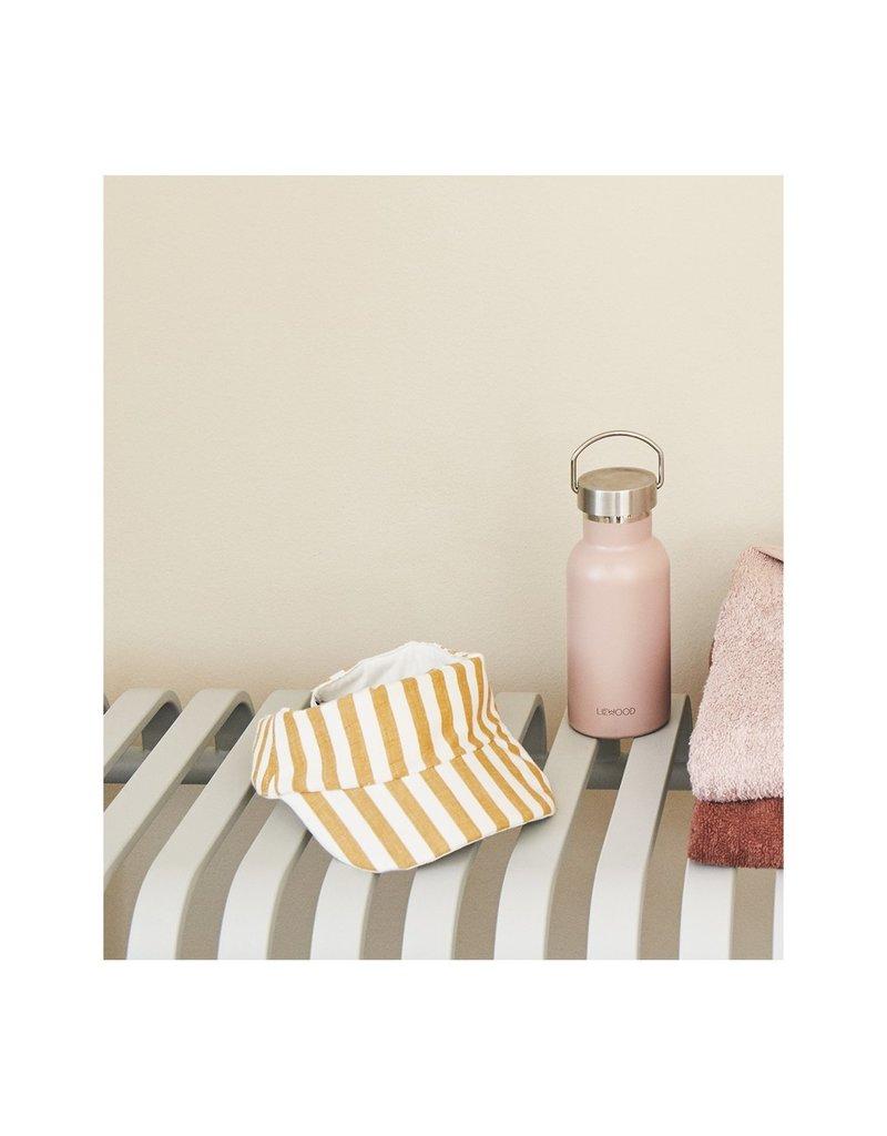 Liewood Liewood Graham zonneklep stripe mustard/creme de la creme