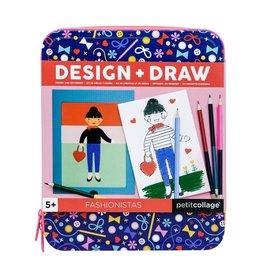 Petit Collage Petit Collage ontwerp en tekenkit fashionistas