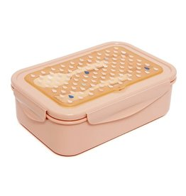 Petit Monkey Petit Monkey Bento lunchbox drops peach