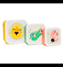 Petit Monkey Petit Monkey lunchbox set lion
