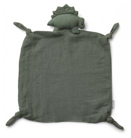 Liewood Liewood Agnete cuddle cloth dino faune green