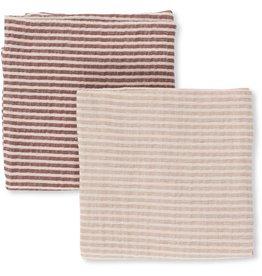 Konges Slojd Konges Slojd muslin cloth 2-pack striped girl