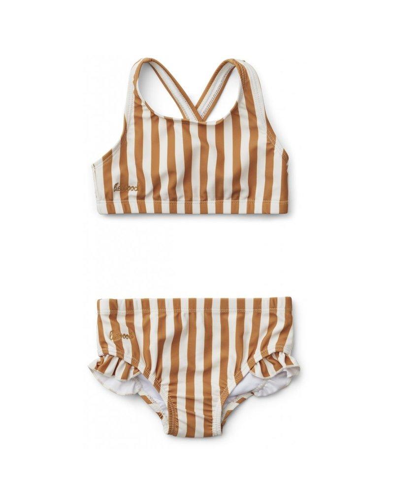 Liewood Liewood Juliet bikini stripe mustard/creme de la creme
