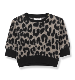 1 + in the family 1+ in the family Manitoba sweatshirt black/beige