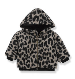 1 + in the family 1+ in the family Colombia hood jacket black/beige