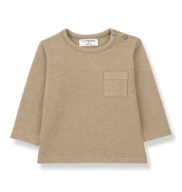 1 + in the family 1+ in the family Bilbao longsleeve t-shirt beige
