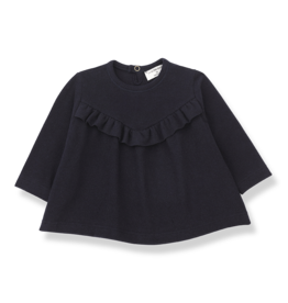1 + in the family 1 + in the family Alcudia blouse dark blue