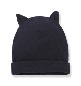 1 + in the family 1 + in the family Paris beanie w/ears dark blue