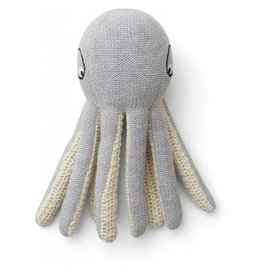 Liewood Liewood Ole knit mini teddy octopus grey melange