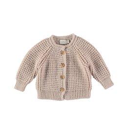Buho Buho Robin knit cardigan natural