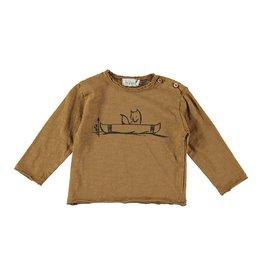 Buho Buho Linus canoe t-shirt curry