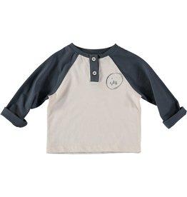Buho Buho Gaspar baseball t-shirt ocean blue