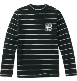 Sproet & Sprout Sproet & Sprout turtle neck t-shirt stripe black
