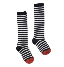 Sproet & Sprout Sproet & Sprout high sock stripe black