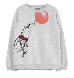 Emile et Ida Emile et Ida sweater gris chine croco