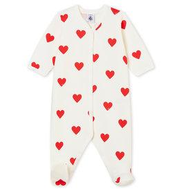 Petit Bateau Petit Bateau Coeurapari pyjama