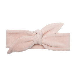 Little Indians Little Indians headband faded pink velour one size