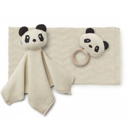 Liewood Liewood Petra baby knit package panda beige beauty