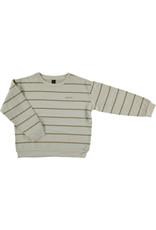 Bonmot Bonmot sweatshirt double stripe mushroom