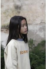 Bonmot Bonmot ranglan sweatshirt maple sugar
