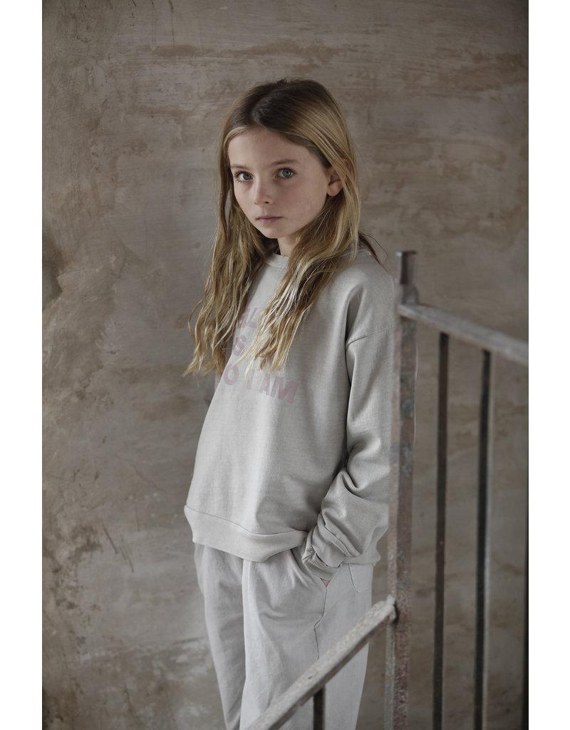 Bonmot Bonmot sweatshirt hello chateau gray