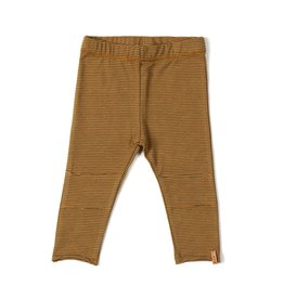 Nixnut Nixnut tight legging camel stripe