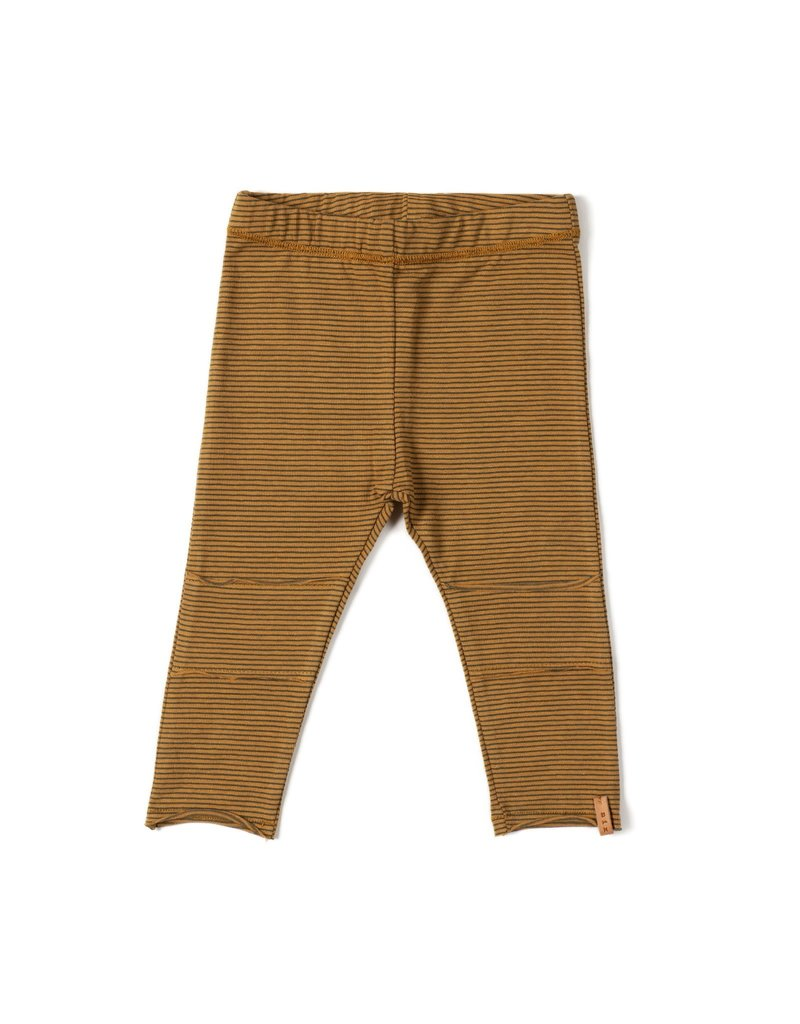 Nixnut Nixnut tight legging camel stripe
