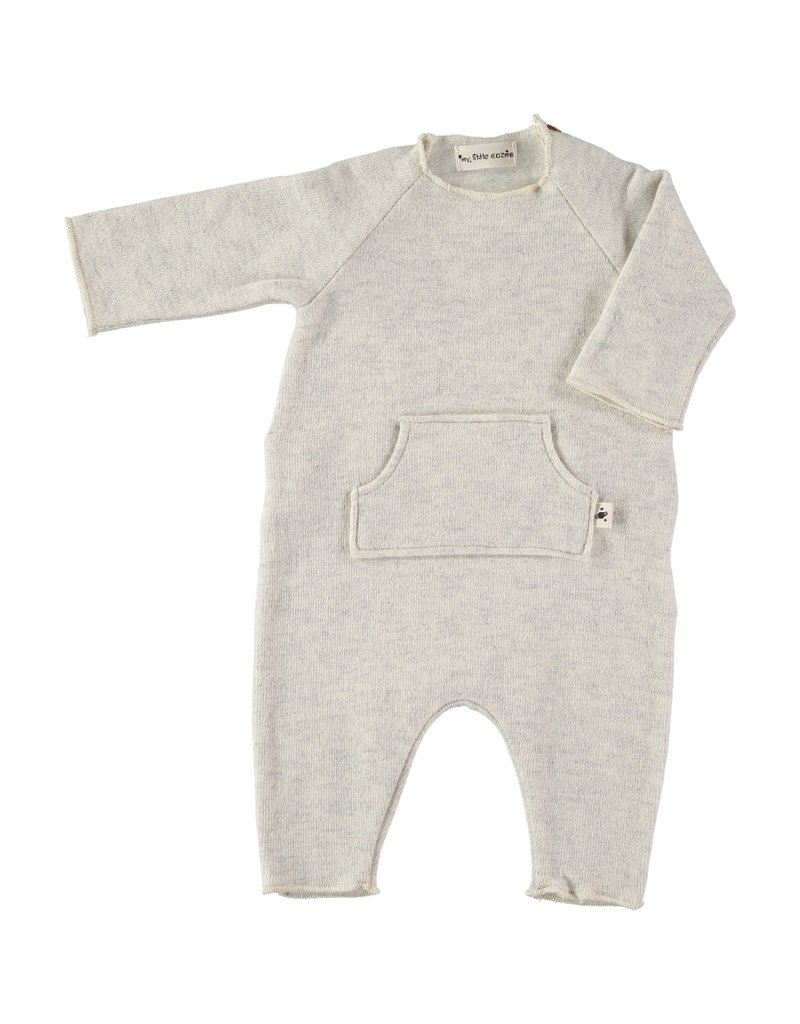 My Little Cozmo my little cozmo Andrea romper lightgrey melange