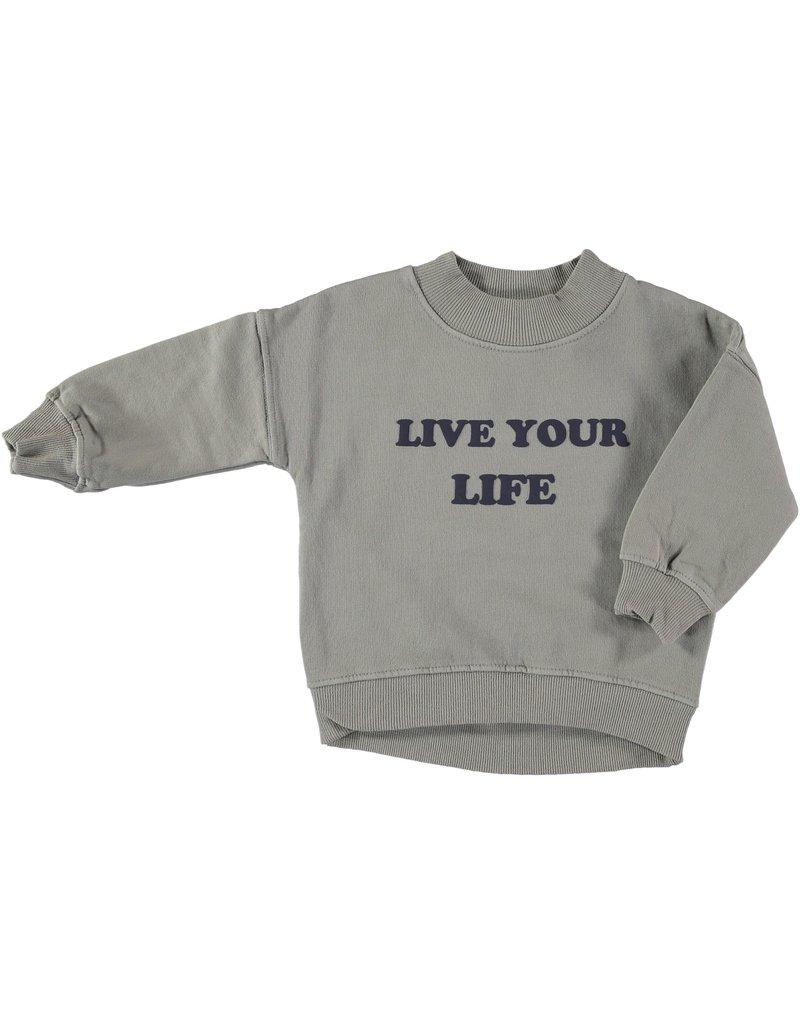 My Little Cozmo my little cozmo Nain sweatshirt stone