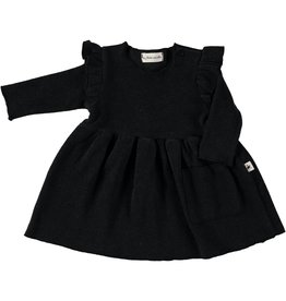 My Little Cozmo my little cozmo Stella dress darkgrey melange