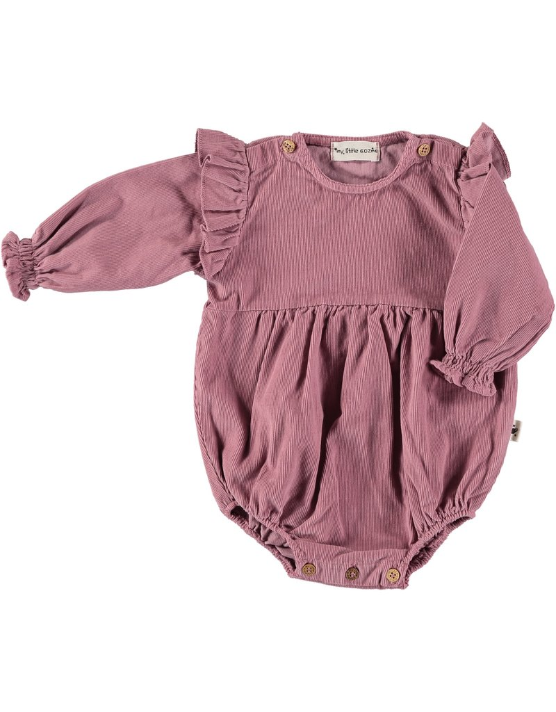 My Little Cozmo my little cozmo Victoria romper vintage pink