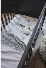 Mies & Co Mies & Co deken soft teddy pretty pearls chalk pink