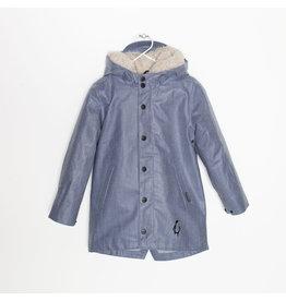 Gosoaky Gosoaky 3-in-1 jacket light denim/teddy