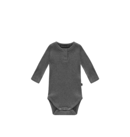 House of Jamie House of Jamie rib bodysuit granite