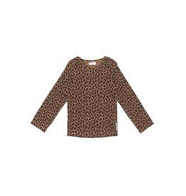 maed for mini maed for mini longsleeve chocolate leopard