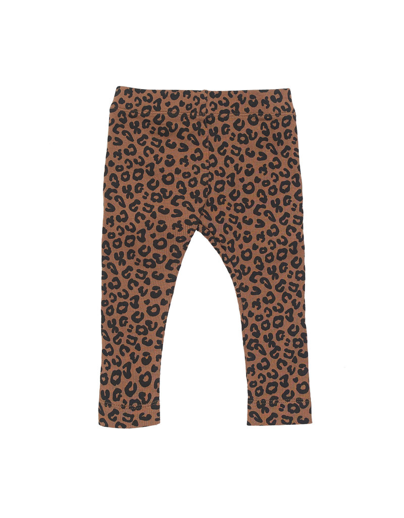 maed for mini maed for mini pants chocolate leopard