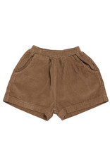 maed for mini maed for mini rib shorts chocolate pony