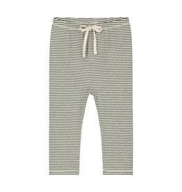 Gray Label Gray Label baby leggings moss/cream stripe