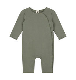 Gray Label Gray Label baby suit with snaps moss