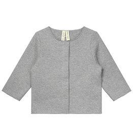Gray Label Gray Label baby cardigan grey melange
