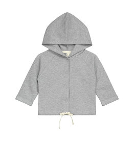 Gray Label Gray Label baby hooded cardigan grey melange