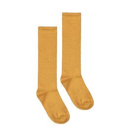 Gray Label Gray Label long ribbed socks mustard