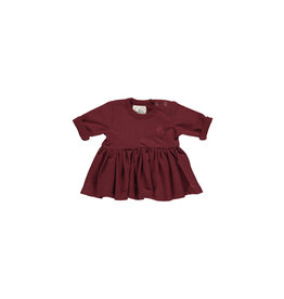 Gro Gro Lina tinkerbell baby dress bourgogne