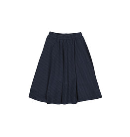 Gro Gro Mynte diagonal skirt navy