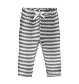 Gray Label Gray Label baby leggings nearly black/cream stripe