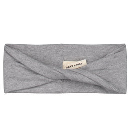 Gray Label Gray Label mini twist headband grey melange
