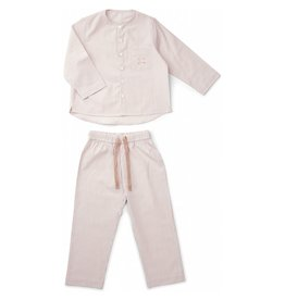 Liewood Liewood Olly pyjama stripe rose/white