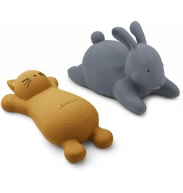 Liewood Liewood Vikky bath toys - 2 pack cat mustard